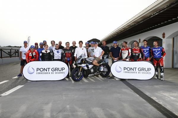 Exito de Kevin Schwantz y Club Pont Grup en la Safety School