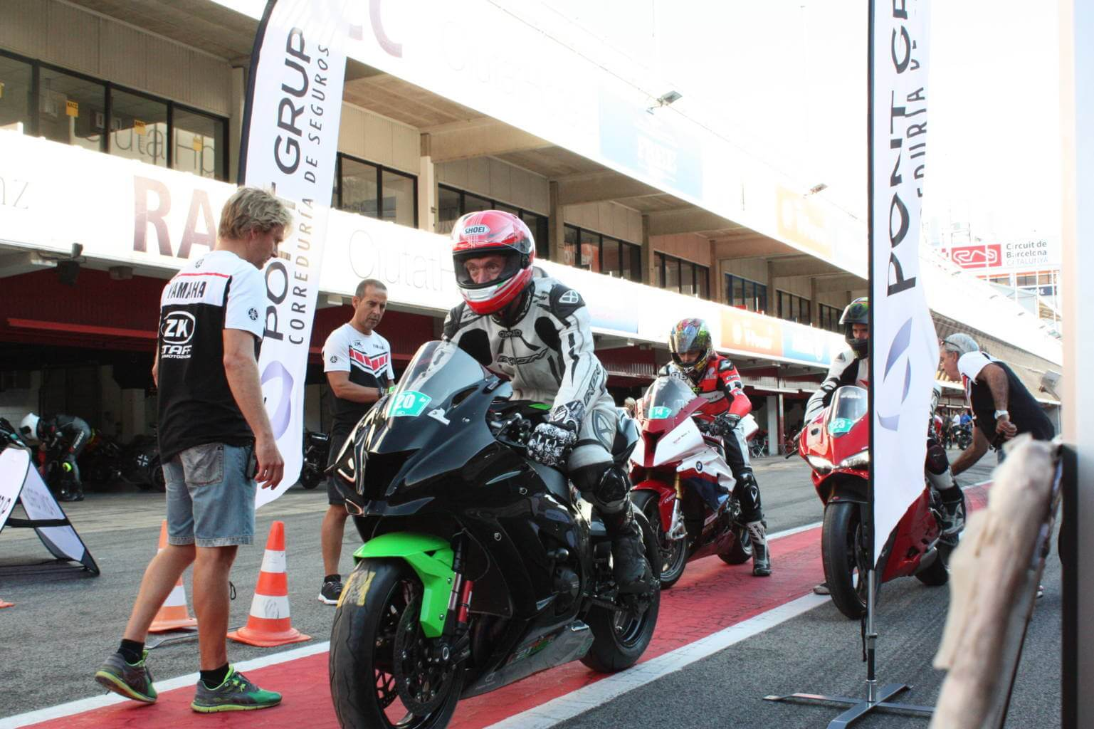 Club Pont Grup Safety School estuvo en Montmelo