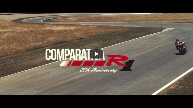 Comparativa Yamaha R1 - 20 aniversario